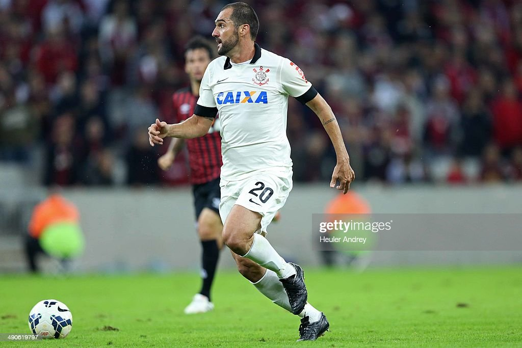 Danilo of Corinthians during the match between Atletico-PR and Corinthians for the Test Event FIFA at Arena da Baixada stadium on May 14, 2014 in Curitiba, Brazil.