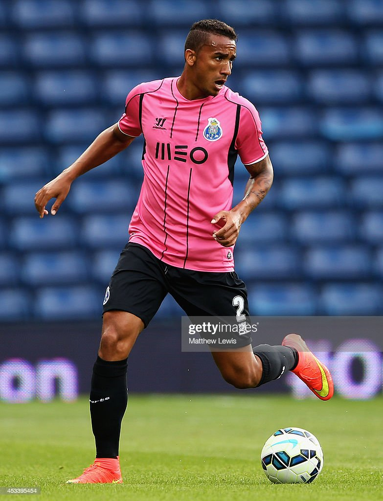 Danilo of FC Porto in action during the Pre Season Friendly match between West Bromwich Albion and FC Porto at The Hawthorns on August 9 2014 in West...