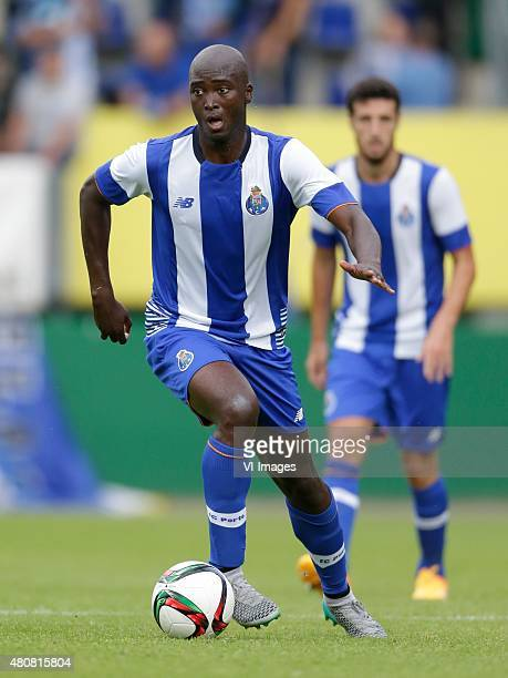 Danilo Pereira of FC Porto during the International friendly match between Fortuna Sittard and FC Porto on July 15 2015 at the Trendwork Arena in...