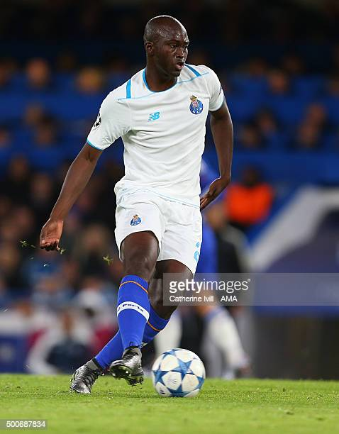 Danilo Pereira of FC Porto during the UEFA Champions League match between Chelsea and FC Porto at Stamford Bridge on December 9 2015 in London United...