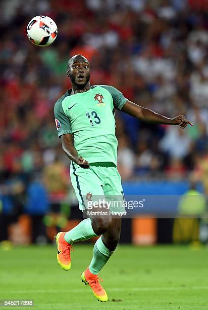 Danilo Pereira of Portugal in action during the UEFA EURO 2016 semi final match between Portugal and Wales at Stade des Lumieres on July 6 2016 in...