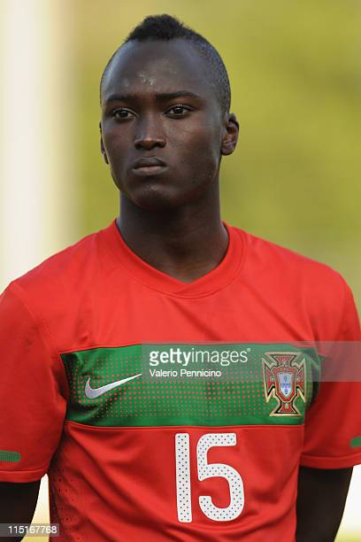 Danilo Pereira of Portugal looks on prior to the Toulon U21 tournament match between Italy and Portugal at Stade de l'Esterel on June 3 2011 in...