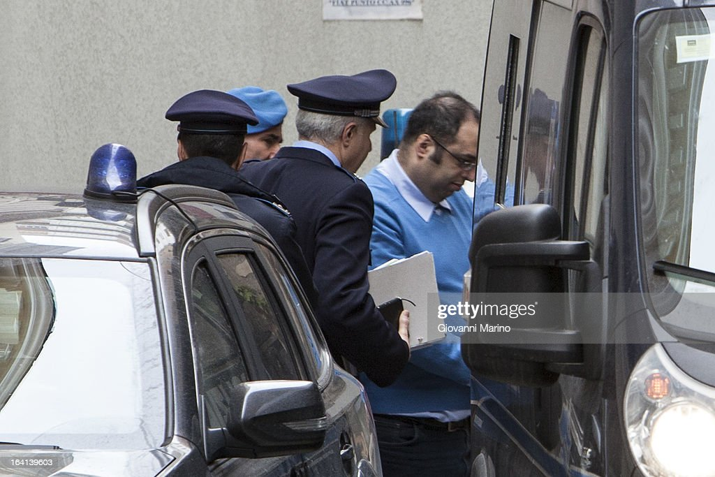 Danilo Restivo attends court for an appeal hearing over his conviction of the murder of Elisa Claps on March 20, 2013 in Salerno, Italy. Italian national Restivo is appealing against the conviction in his absence by an Italian court, whilst serving a life sentence in the UK for the murder of Heather Barnett in 2002. The body of 16-year-old Claps was found hidden in the roof of Santa Trinita Church, Potenza on March 18, 2010 following her disappearance in 1993.