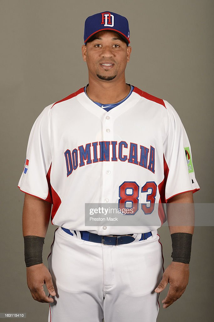 Danilo Sanchez Sanchez #83 of Team Dominican Republic poses for a headshot for the 2013 World Baseball Classic on March 4, 2013 at George M. Steinbrenner Field in Tampa, Florida.