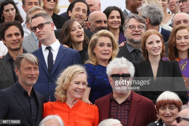 Danish actor Mads Mikkelsen Norwegian actress and director Liv Ullmann Spanish director Pedro Almodovar French director Agnes Varda Mexican actor...