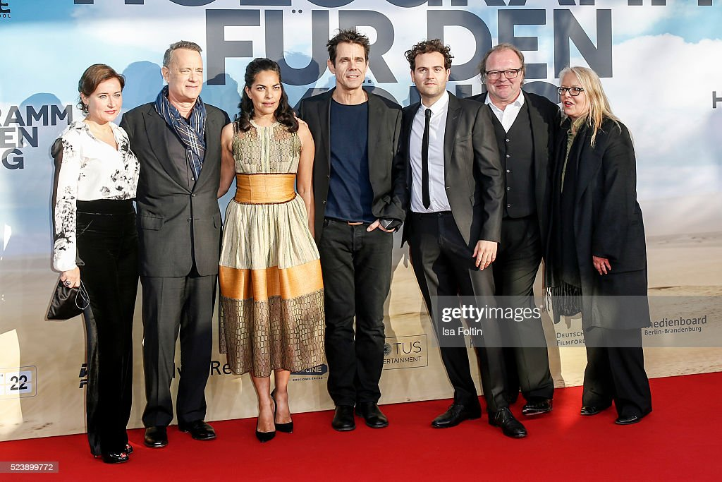 Danish actress Sidse Babett Knudsen american actor Tom Hanks british actress Sarita Choudhury producer Tom Tykwer american actor Alexander Black...