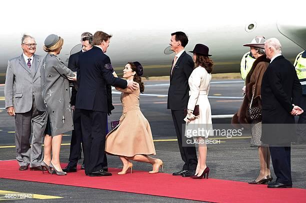 Danish and Prince Consort Henrik Danish Princess Benedikte Danish Crown Prince Frederik Danish Crown Princess Mary Danish Prince Joachim Danish...