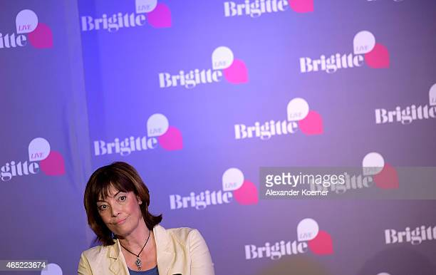 Danish born psychologist and sexual therapist AnnMarlene Henning poses during Brigitte Live Gespraech mit AnnMarlene Henning talk at DIE 2te HEIMAT...