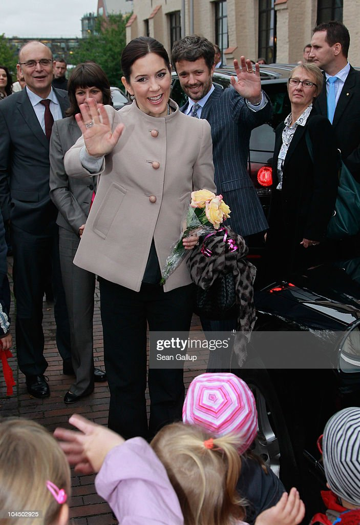 Danish Crown Prince Couple Visit Germany