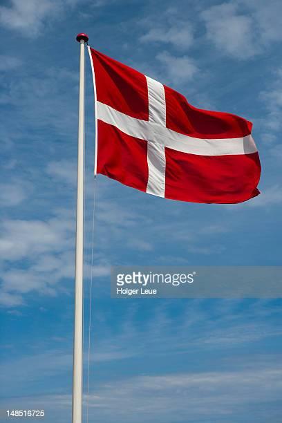 Danish Dannebrog flag.