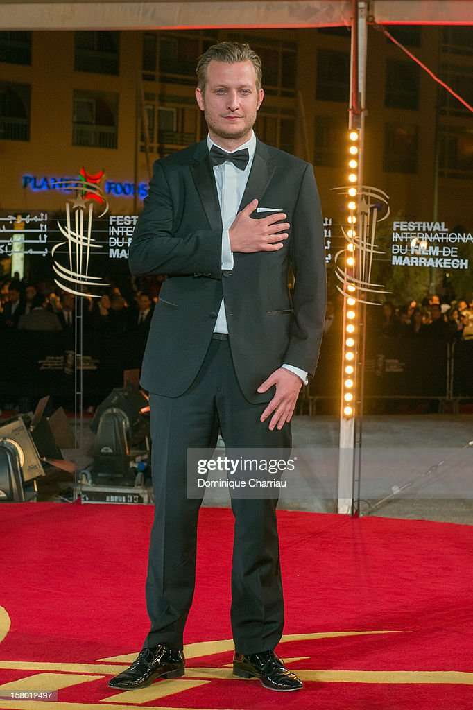 Danish director Tobias Lindholm arrives to the awrard ceremony of the 12th International Marrakech Film Festival on December 8, 2012 in Marrakech, Morocco.