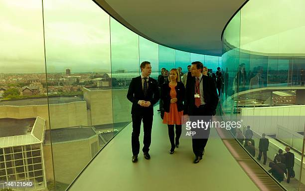 Danish EU Minister Nicolaj Wammen Ireland's Minister of State for European Affairs Department of Foreign Affairs and Trade Lucinda Creighton and...