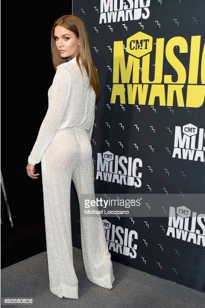 Danish model Josephine Skriver attends the 2017 CMT Music Awards at the Music City Center on June 7 2017 in Nashville Tennessee