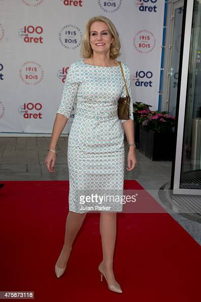 Danish Prime Minister Helle ThorningSchmidt attends The Parliament and Government's Celebration of The 100th Anniversary of The 1915 Danish...