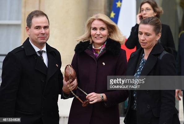 danish prime minister helle thorning schmidt c leaves the elysee palace after attending a. Black Bedroom Furniture Sets. Home Design Ideas