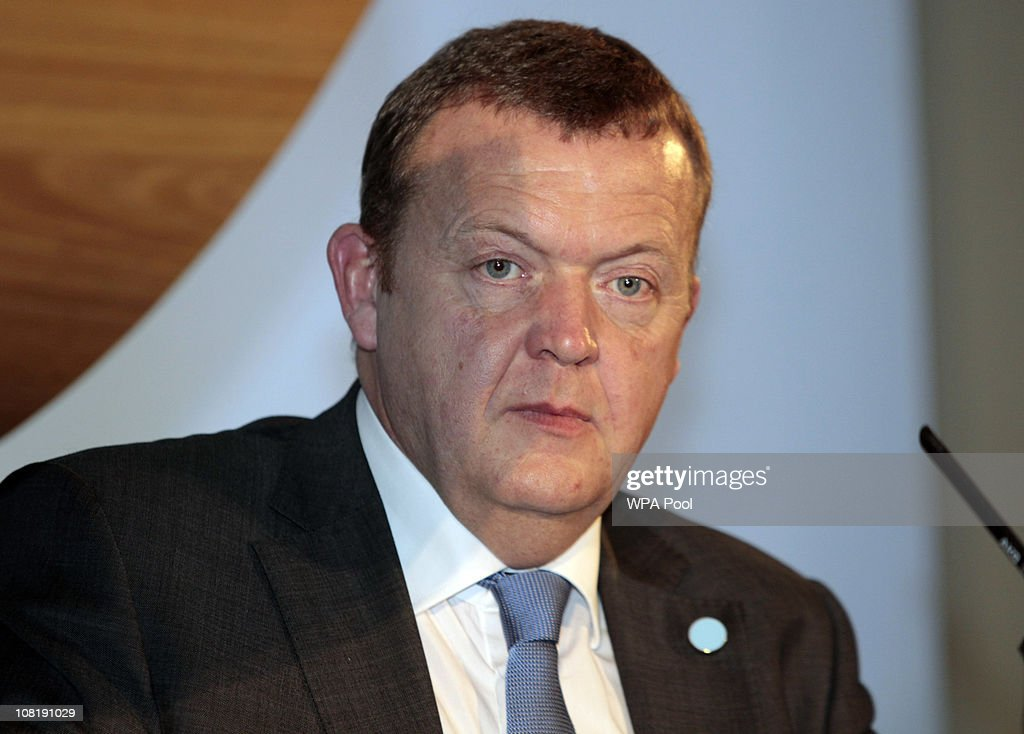 Danish Prime Minister <a gi-track='captionPersonalityLinkClicked' href=/galleries/search?phrase=Lars+Lokke+Rasmussen&family=editorial&specificpeople=5839942 ng-click='$event.stopPropagation()'>Lars Lokke Rasmussen</a> pauses during the UK Nordic Baltic Summit, at Downing Street, on January 20, 2011 in London, England. Leaders from UK, Iceland, Lithuania, Finland, Latvia, Estonia, Sweden, Norway and Denmark gathered for the two-day summit to discuss boosting economic growth, enterprise and job creation.