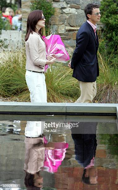 Danish royals Prince Frederik and Princess Mary visit Port Arthur in Tasmania for the final part of their Australian tour 11 March 2005 THE AGE NEWS...