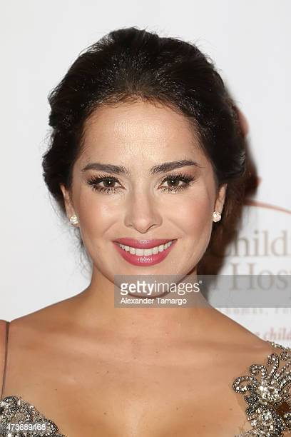 Danna Garcia arrives at the 13th Annual St Jude Angels and Stars Gala on May 16 2015 in Miami Florida