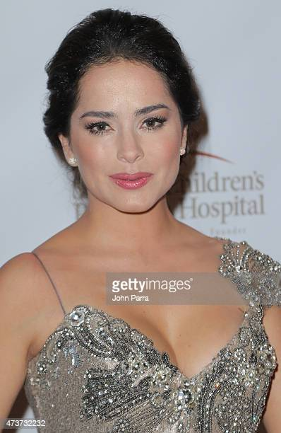 Danna Garcia attends the 13th Annual FedEx/St Jude Angels and Stars Gala at JW Marriott Marquis on May 16 2015 in Miami Florida