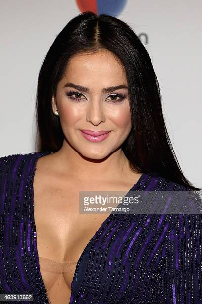 Danna Garcia attends the 2015 Premios Lo Nuestros Awards at American Airlines Arena on February 19 2015 in Miami Florida