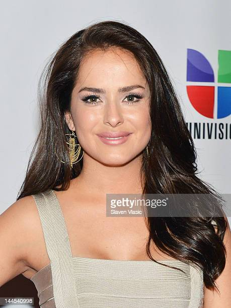 Danna Garcia attends Univision Upfront 2012 Reception at Cipriani 42nd Street on May 15 2012 in New York City