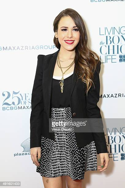 Danna Paola attends the BCBG Max Azria 25th anniversary at Plaza Carso on May 16 2014 in Mexico City Mexico