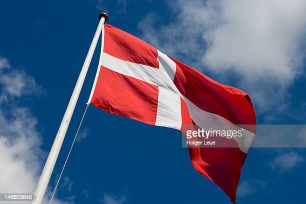 Dannebrog Danish flag.