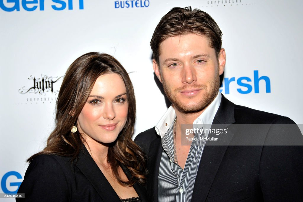 Danneel Harris and Jensen Ackles attend Celebration of the 2010 Upfronts and Broadway Season at Juliette Supperclub on May 18, 2010 in New York City.
