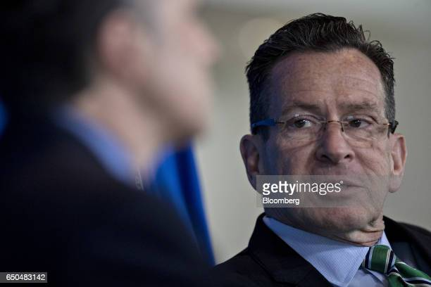 Dannel Malloy governor of Connecticut speaks during an American Society of Civil Engineers news conference in Washington DC US on Thursday March 9...