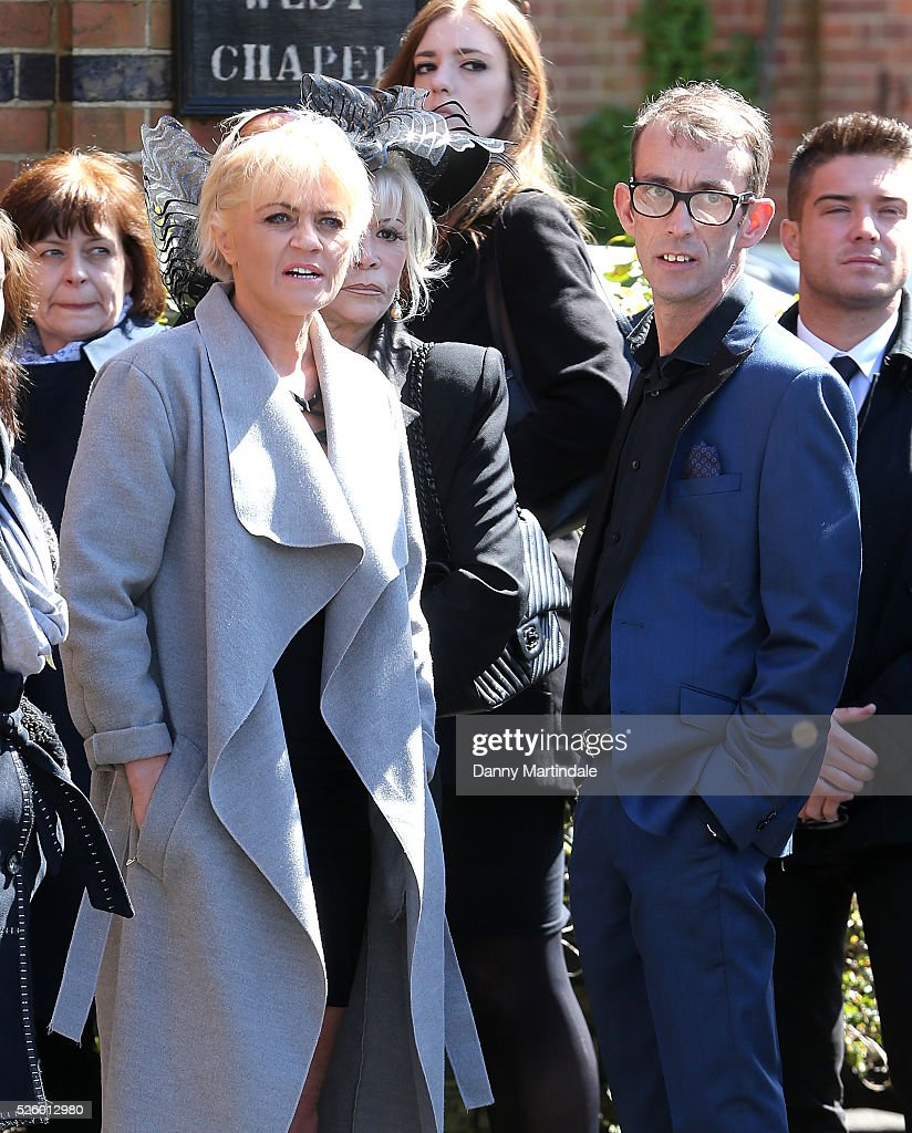 <a gi-track='captionPersonalityLinkClicked' href=/galleries/search?phrase=Danniella+Westbrook&family=editorial&specificpeople=211360 ng-click='$event.stopPropagation()'>Danniella Westbrook</a> attends the funeral of entertainer, producer and reality television star David Gest at Golders Green Crematorium on April 29, 2016 in London, England.