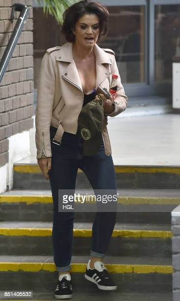 Danniella Westbrook seen at the ITV Studios on September 22 2017 in London England