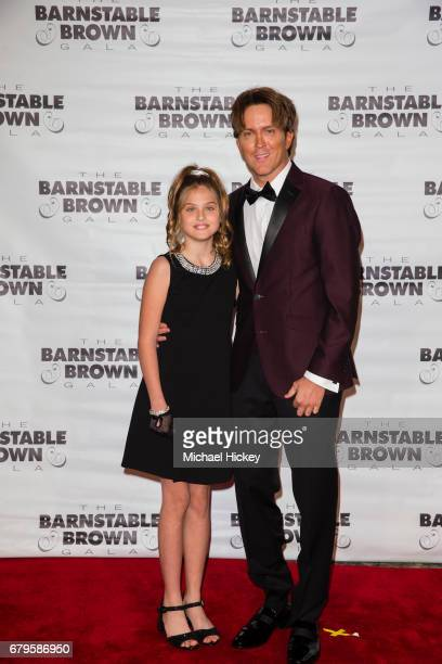 Dannielynn Birkhead and Larry Birkhead appear at The Barnstable Brown Gala on May 5 2017 in Louisville Kentucky