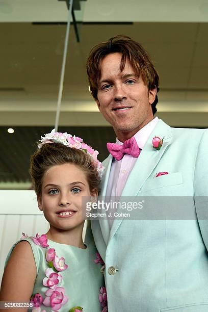 Dannielynn Birkhead and Larry Birkhead attends The 142nd Kentucky Derby at Churchill Downs on May 7 2016 in Louisville Kentucky