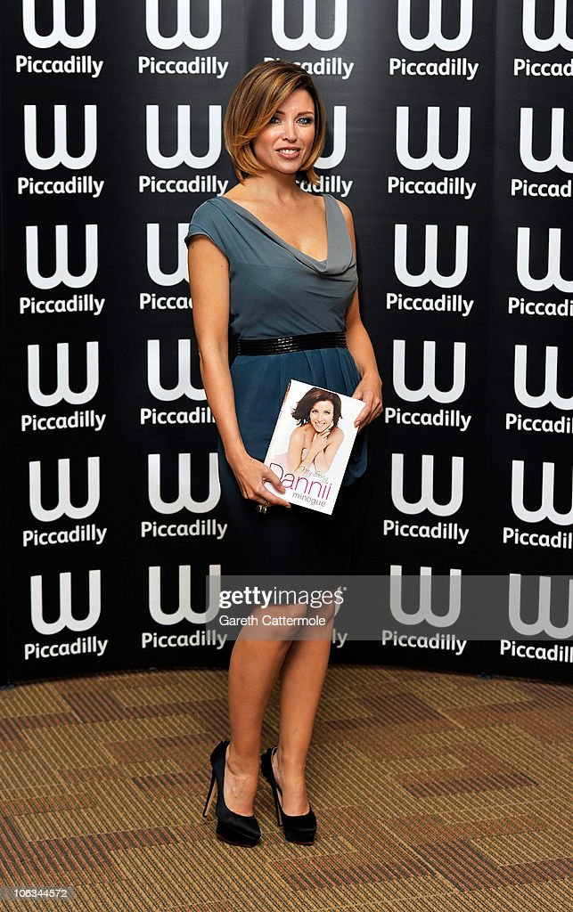 Dannii Minogue signs copies of her new book ' 'Dannii My Story' at Waterstones Piccadilly on October 29, 2010 in London, England.