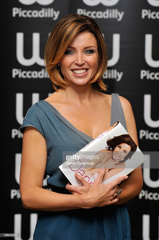 Dannii Minogue signs copies of her new book 'Dannii: My Story' at Waterstones Piccadilly on October 29, 2010 in London, England.