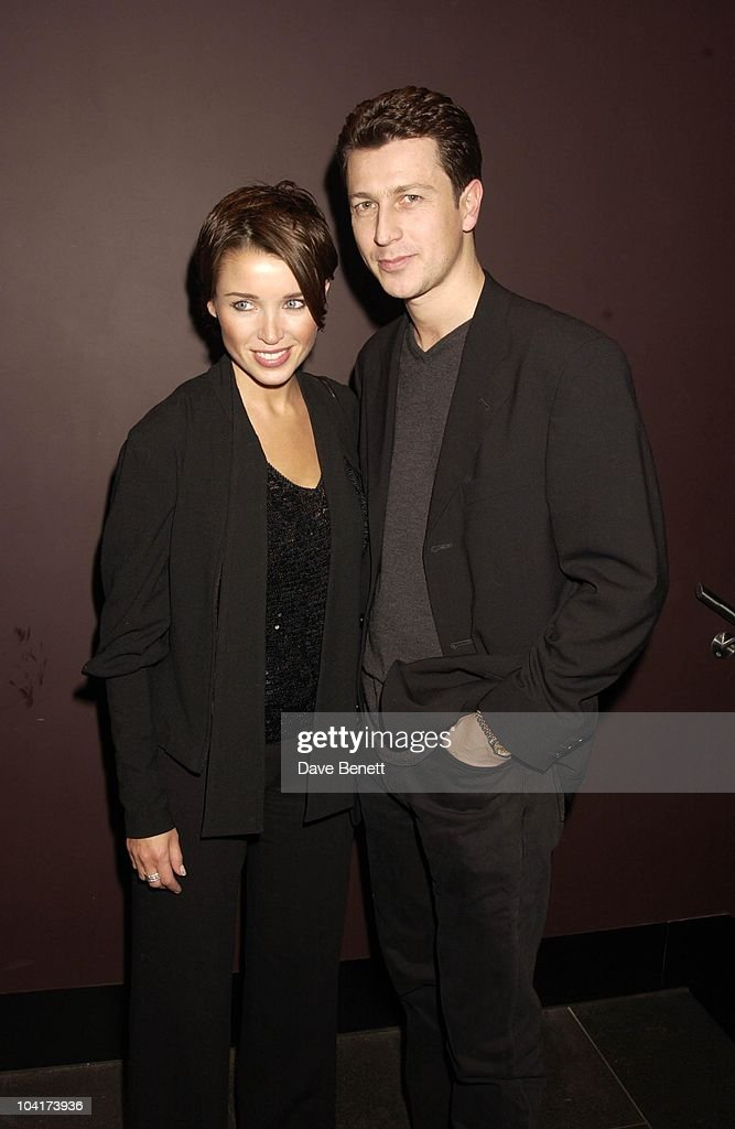 Dannii Minogue With Producer Craig Logan (ex Bros) At The After Show Party, The New Cast For Vagina Monologues Celebrated Their First Night Indoors.at The West Street Hotel, London