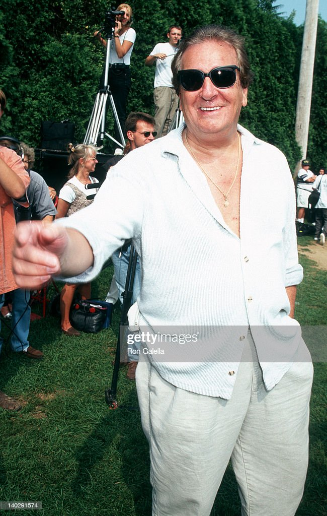 Danny Aiello at the 1996 Artists Writers Softball Game New York Herald Field East Hampton