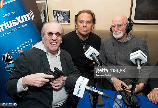 Danny Aiello Lou Christie and Dominic Chianese attend the SiriusXM Sinatra 100 celebration at Patsy's on December 12 2015 in New York City