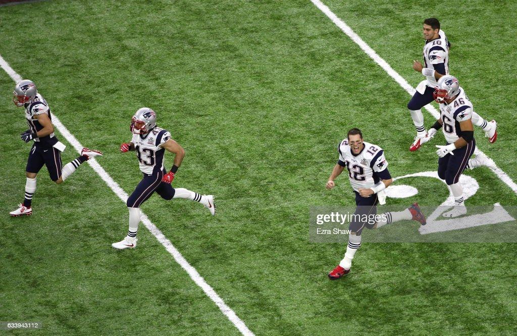 16eb825f9f9 ... Danny Amendola 80 of the New England Patriots, Nate Ebner 43, ...