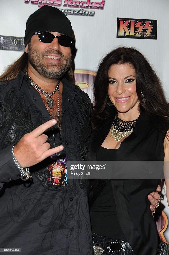Danny and Korie Koker walk the red carpet at the Vegas Rocks! Magazine Awards on August 26, 2012 in Las Vegas, Nevada.