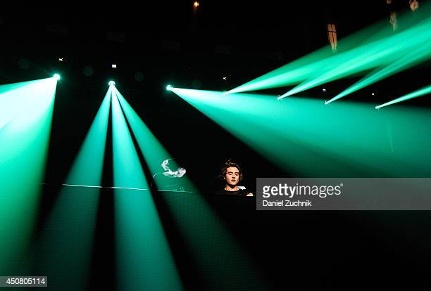 Danny Avila performs as 7UP Presents Tiesto's 'A Town Called Paradise' Album Release Party at Terminal 5 on June 17 2014 in New York City