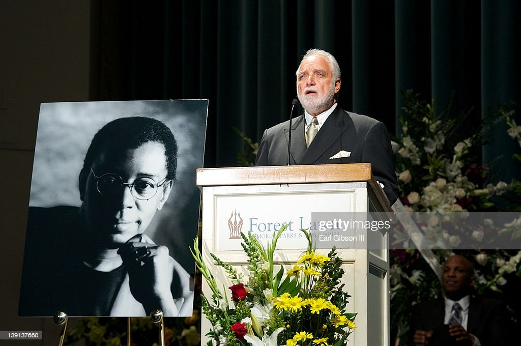 Danny Bakewell speaks at the Memorial Service for Don Cornelius on February 16, 2012 in Los Angeles, California.