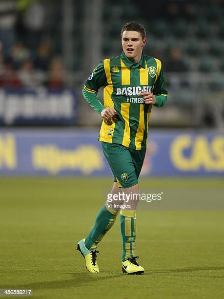 Danny Bakker of ADO Den Haag during the Dutch Eredivisie match between ADO Den Haag and RKC Waalwijk on December 14 2013 at the Kyocera stadium in...