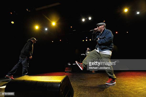 Danny Boy and Everlast of House of Pain perform at Nokia Theatre on March 18 2010 in New York City