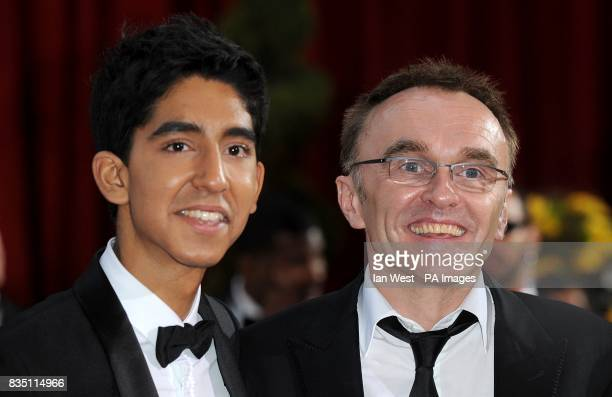 Danny Boyle and Dev Patel arriving for the 81st Academy Awards at the Kodak Theatre Los Angeles