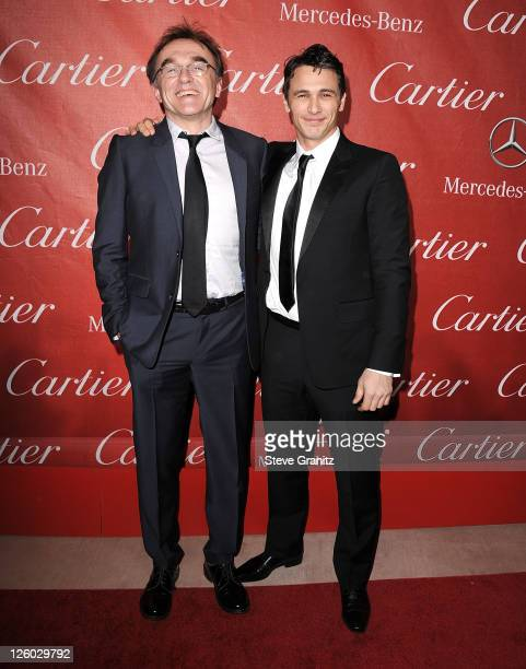 Danny Boyle and James Franco attends the 22nd Annual Palm Springs International Film Festival Awards Gala at Palm Springs Convention Center on...