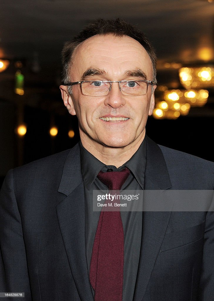 Danny Boyle arrives at the Jameson Empire Awards 2013 at The Grosvenor House Hotel on March 24, 2013 in London, England.