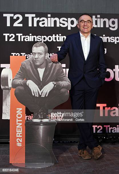 Danny Boyle attends a photocall for 'T2 Trainspotting' on January 31 2017 in Rome Italy