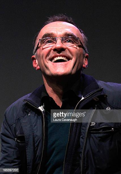 Danny Boyle attends Apple Soho Store Presents Meet The Filmmaker Danny Boyle at Apple Store Soho on April 3 2013 in New York City
