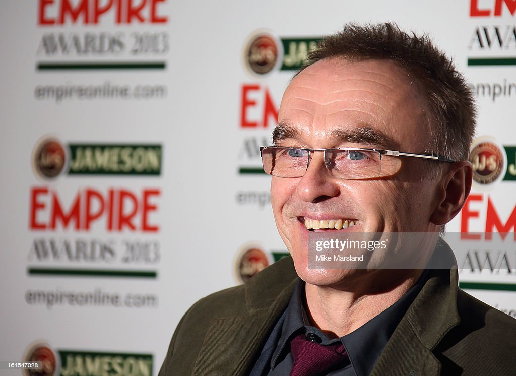 <a gi-track='captionPersonalityLinkClicked' href=/galleries/search?phrase=Danny+Boyle&family=editorial&specificpeople=1678742 ng-click='$event.stopPropagation()'>Danny Boyle</a> attends the 18th Jameson Empire Film Awards at Grosvenor House, on March 24, 2013 in London, England.